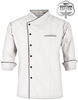 Men's Raglan 3/4 Sleeve Chef Coat