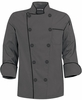 Fashion Pebble Gray Chef Coat
