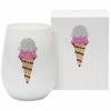 Ice Cream Cone Icon Candle