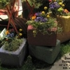 #558 Door Step Garden Trough in Colors