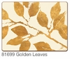 Golden Leaves Hardback Placemats