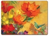 Orange Blaze Hardbacked Placemats