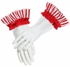 Petite Dot Party Red Dish Gloves