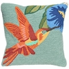 "Hummingbird 18"" Square Pillow"