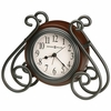 Iron Scroll Diane Tabletop Clock