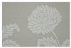 Woven Placemat - Taupe Chrysanthemum