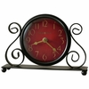 "Marisa 9 1/2"" Wide Table Clock"