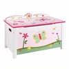 Kid's Guidecraft Butterfly Buddies Toy Box