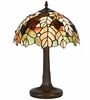 Fall Leaf Tiffany Style Table Lamp