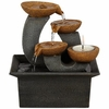Three Cups & Candle Tabletop Fountain.