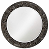 Antique Black Carthage Wall Mirror