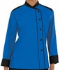 Long Sleeve Chef Coat w/ Snap Front Closure