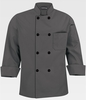 Men's Pebbble Grey Chef Coat