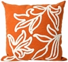 "Visions I Windsor Orange 20"" Throw Pillow"
