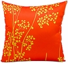 "Orange & Yellow 20"" Throw Pillow"