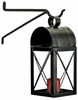 Black Iron House Candle Lantern