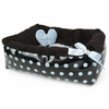 Polka Dot Ease Bed - Blue