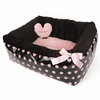 Polka Dot Ease Bed - Pink