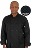 Men's Mesh Back Basic Fit Chef Coat