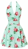 Floral Swing Mint Apron