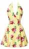 Floral Swing Yellow Apron