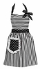 Dorothy Black Retro Apron