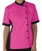Women's Mesh Side Panel Chef Coat - 100% Cotton Fine Line Twill