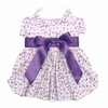 Wisteria Floral Puppy Dress