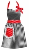 Dorothy Red  Retro Apron