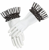 Dorothy Black Retro Dish Gloves