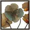 "16"" Acrylic Flowers Metal Wall Art"