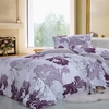 Floral Pattern 4-pc Luxury Bed Ensemble