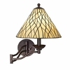 Iron Vine Swing Arm Wall Lamp