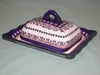 Polish Covered Buttrer Dish - Pattern 08