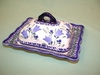 Polish Covered Buttrer Dish - Pattern 25