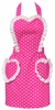 Sweetheart Pink Hostess  Apron