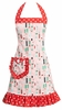Mad for Martinis Retro Holiday Apron