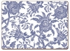 Arcadia Blue Cork-back Placemats