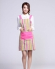 Candy Stripes Waitress Canvas Apron