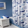 Practical Print  Shower Curtain