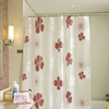Fresh Floral Pattern Shower Curtain