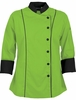 3/4 Sleeved Apple Green  Chef Coat