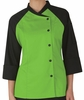 Women's Contrast Raglan Chef Coat