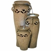 Rustic Jars Indoor - Outdoor Fountain