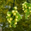 100 Micro-Bulb 5-Cluster Green Grapevine String Light