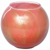 Esque Coral Rose Candle Globe