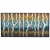 "48"" Queen LakeMetal Wall Art"