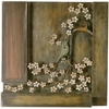 "16 1/2"" Floral and Bird  Wall Art"