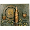 "23 3/4"" Viva La Vino Metal Wall Art"