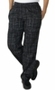 Women's Chef Pants - Hashtag Plaid